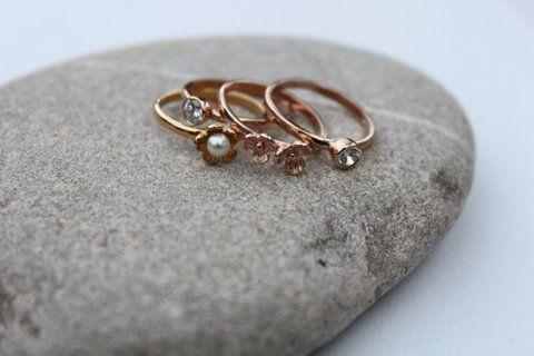 stackable rings  at   www,maisonirem.com
