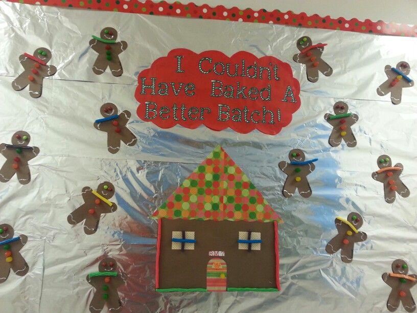 Christmas Gingerbread Man Bulletin Board Christmas Bulletin