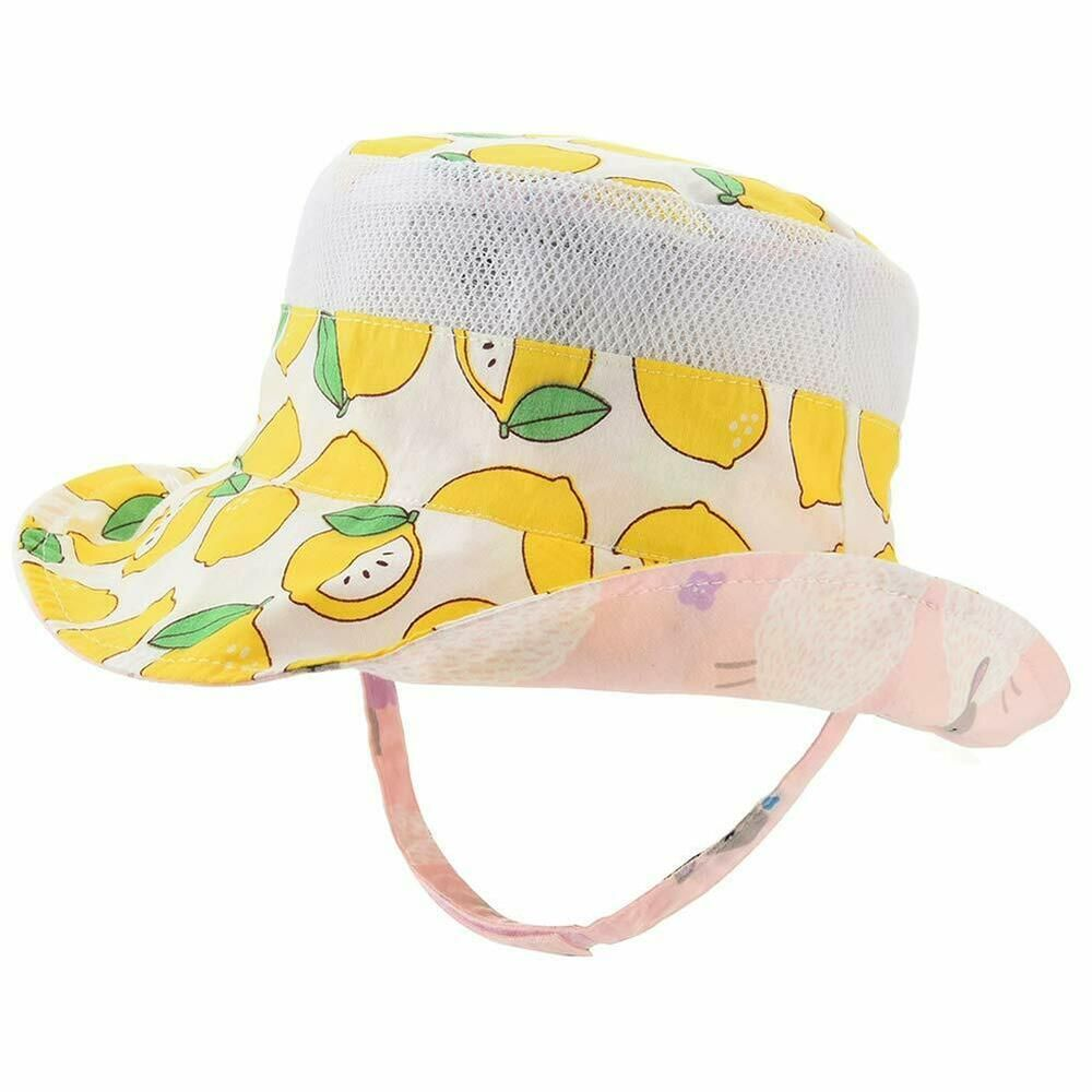 Baby Sun Hat Double Sides Toddler Sun Hat UPF 50 Kids Summer Play Bucket Cap