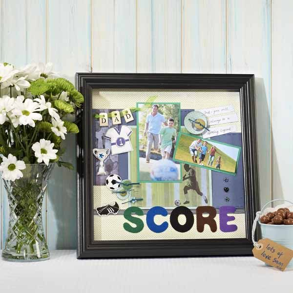 Memory Box Scrapbook Frame Craft Ideas Inspirational Projects
