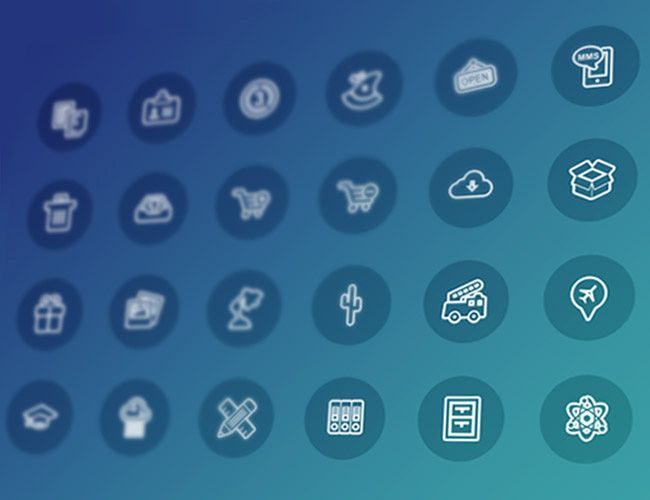 2,000 iOS7-Style Icons With Reselling License - only $17! - MightyDeals