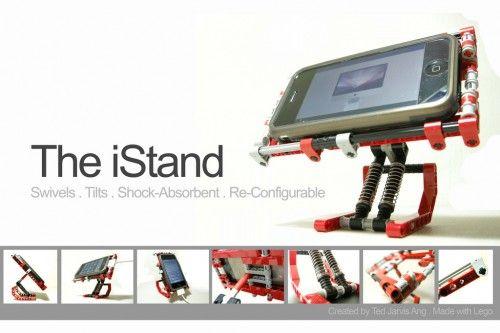 iStand: Selbstgebaute iPhone Halterung aus Lego   iPhone News - Die neuesten Informationen zu iPhone 5, iPhone 6, iPad 4 & iPad mini 2