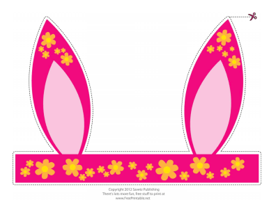 Printable Easter Bunny Letters Ears And Egg Wrappers