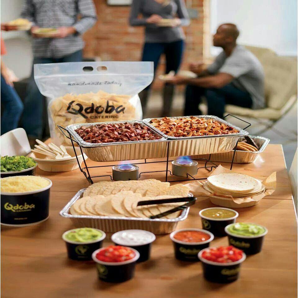 Qdoba inspired taco bar! | Nom Nom! DeeLish! | Pinterest | Taco bar ...