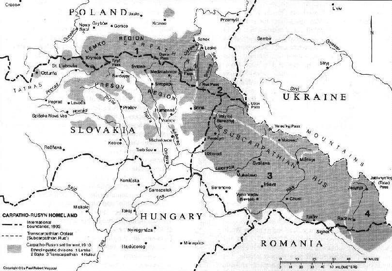 History Of Ukraine Carpathian Mountains Ukraine Map