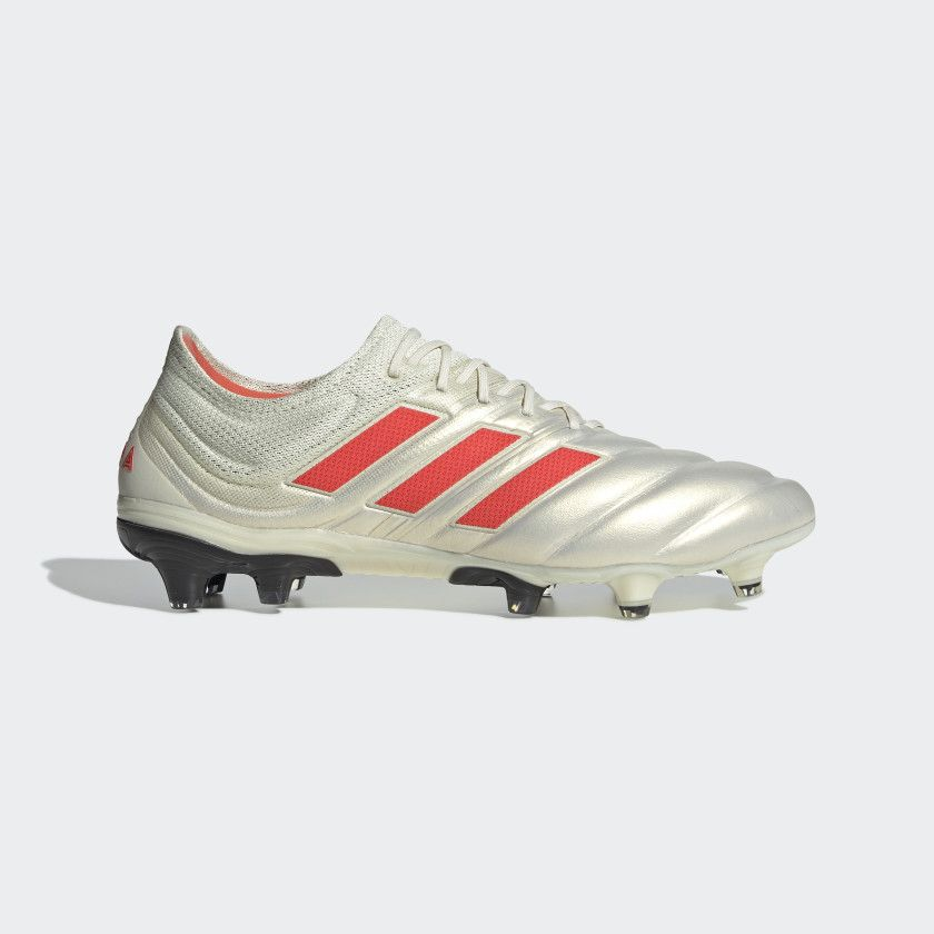 10192efe998a0 Copa 19.1 Firm Ground Cleats Off White   Solar Red   Core Black BB9185