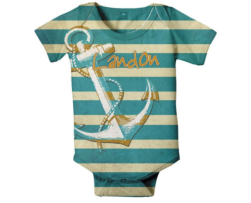 49947ae9edf6 Nautical Baby Bodysuit
