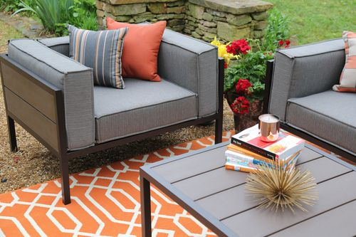 Manhattan 4 Piece Outdoor Deep Seating Set | AE Outdoor | Not Your  Grandmau0027s Patio Furniture