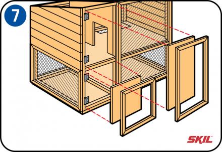 Construire Un Clapier Ou Un Parc Exterieur Pour Votre Lapin Kaninchenstall Kaninchengehege Kaninchenstall Bauen