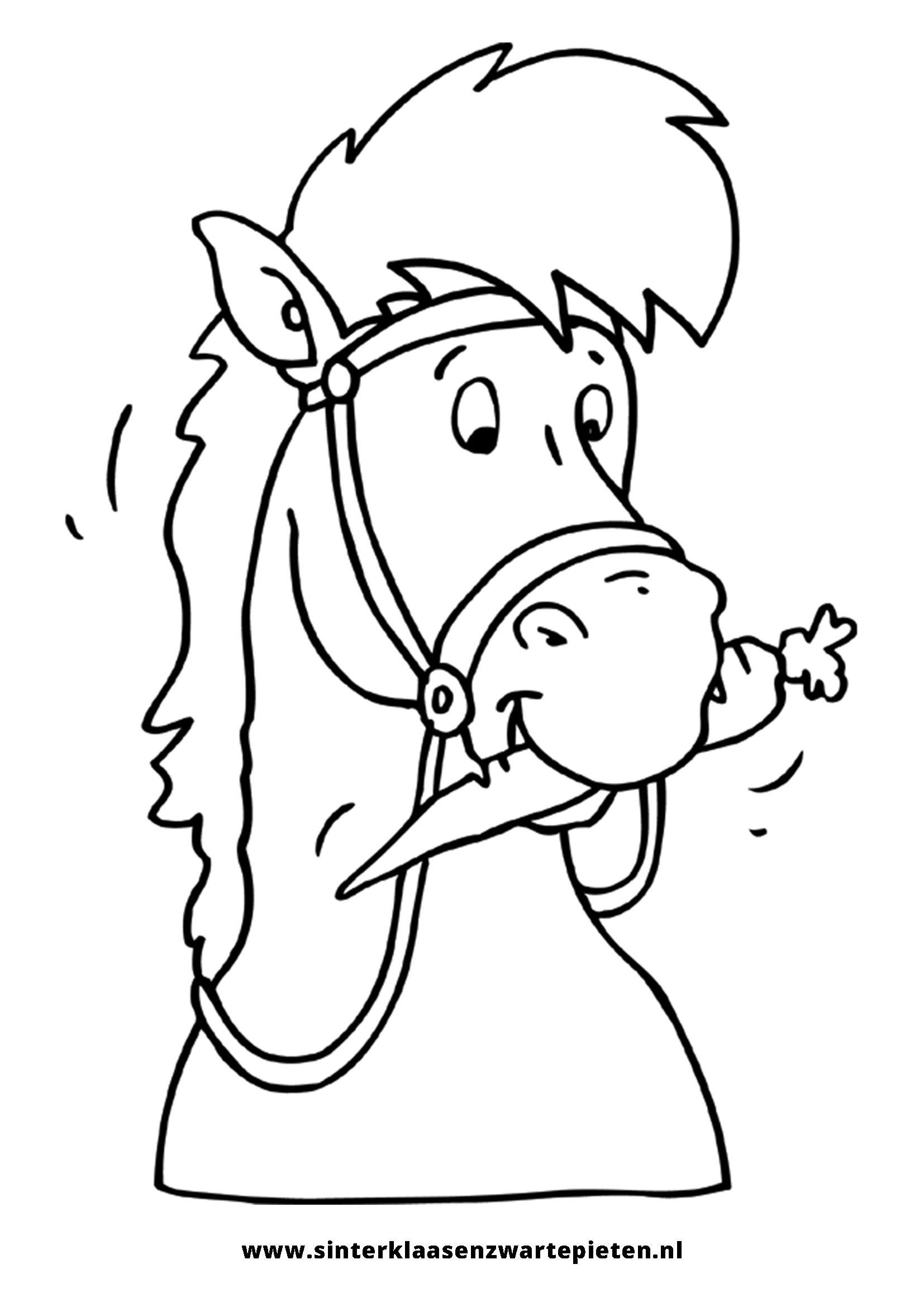 Google Kleurplaten Paarden.Amerigo Kleurplaat Google Zoeken Sint En Piet Surprise