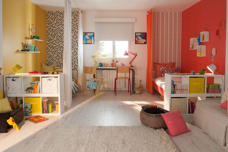 1000 images about 1 chambre 2 enfants on pinterest comment sons and euro - Separer Chambre En 2