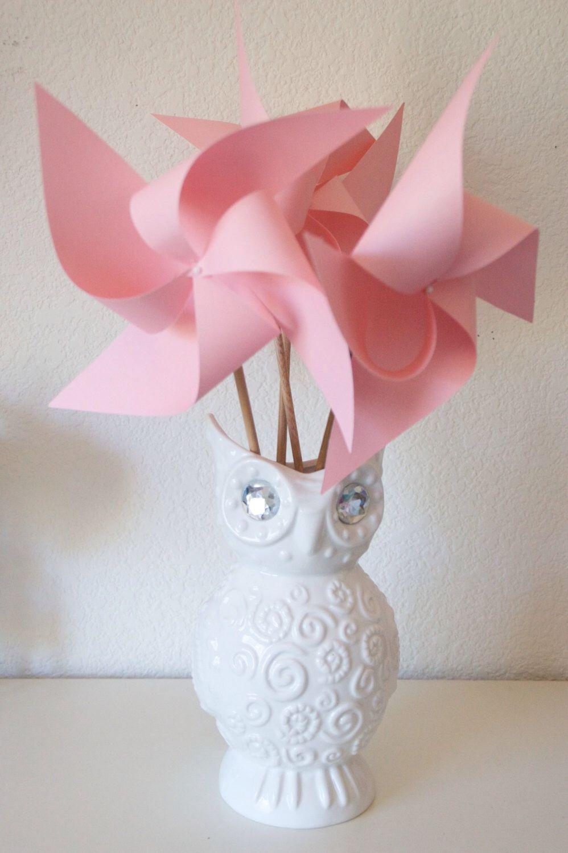 Adorable Pinwheels! Wedding Favors Decor Birthday Favors - 6 Large ...