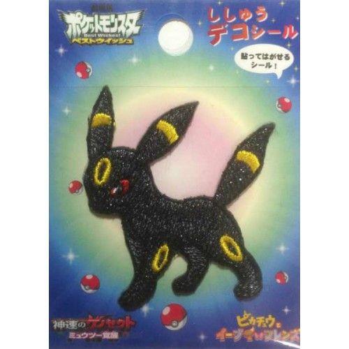 Pokemon Center 2013 Umbreon Embroidered Sticker