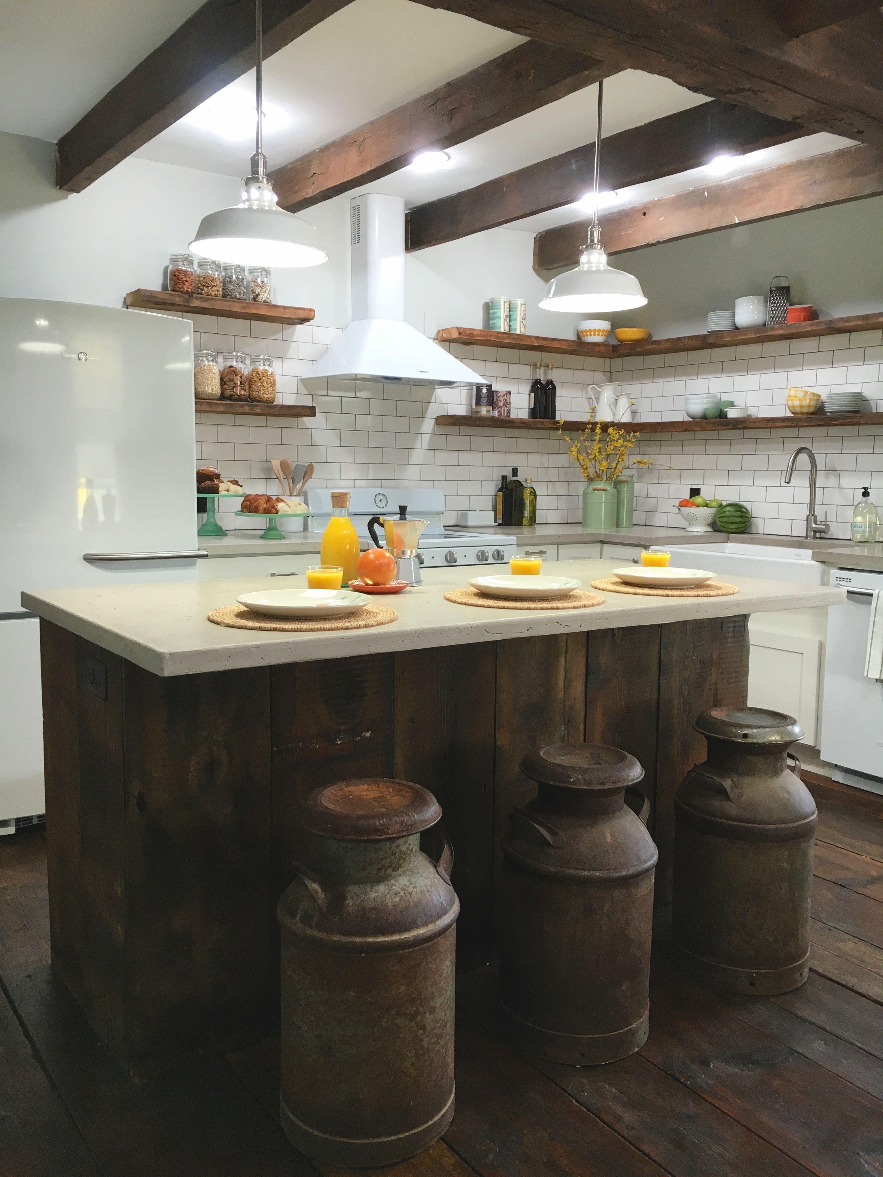 Simple Farmhouse Kitchen. Stone House Revival - Season One ...