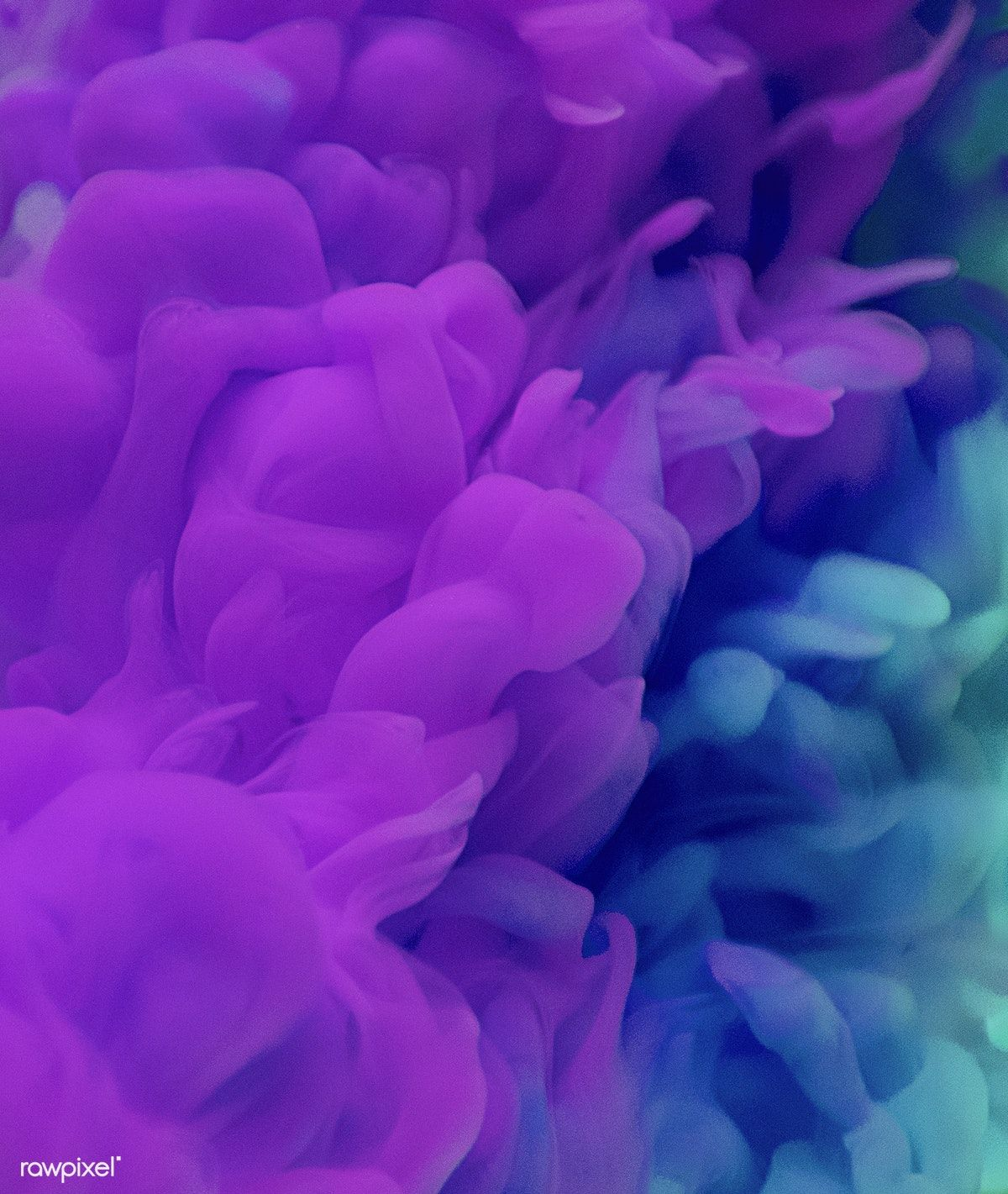 Abstract Purple Color Drop To The Water Blue And Purple Stock Images Free Blue Clouds