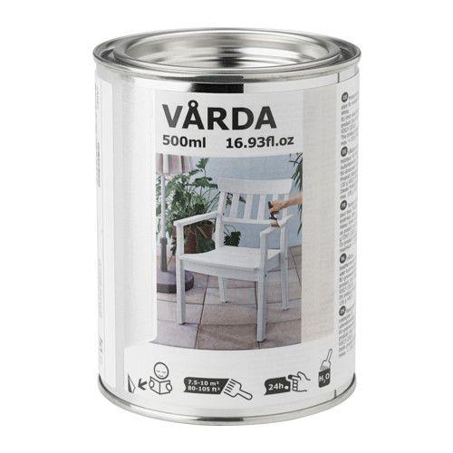 Ikea Lasur 7 99 ikea vårda holzlasur für draußen weiß need want