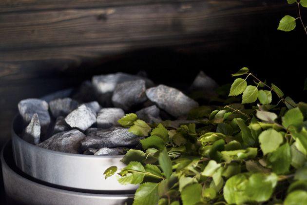 Saunan lämmössä @Asuntomessublogit / Ruutupaperilla