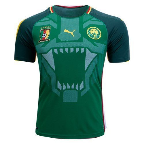 Your heart beats in double-time for Cameroon. Show your true colours and  represent your team with the officially licensed Cameroon Home Replica  Jersey. f86c62f86