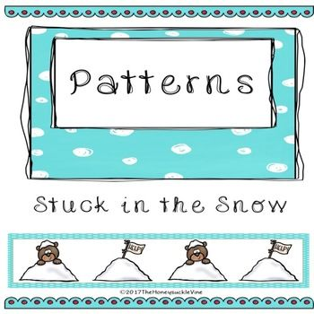 Patterns Winter Activity Mats   Activity mat, Winter activities and ...