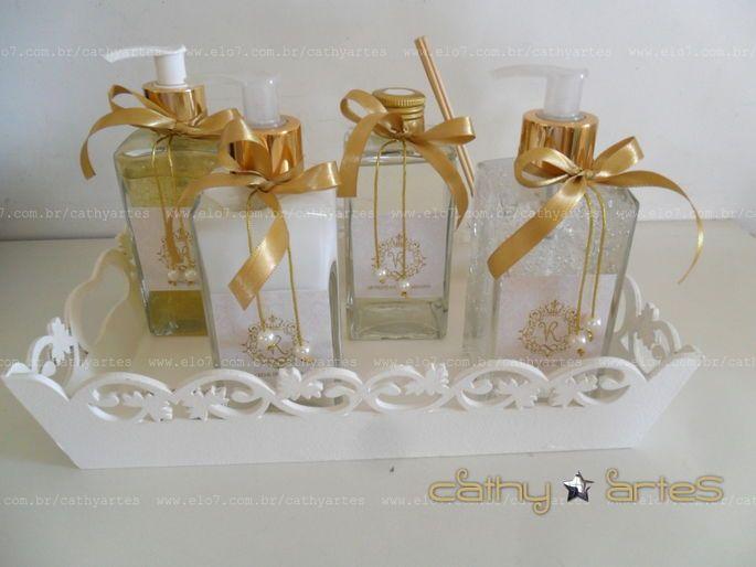Kit Banheiro Para Casamento Goiania : Kit lavabo luxo proven?al kits de banheiro e porta papel