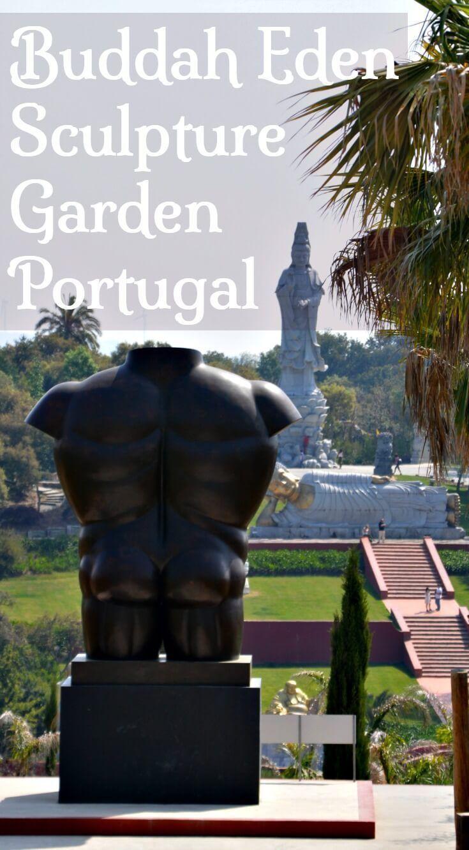 buddha eden garden: enormous sculpture park in silver coast