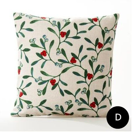 American country flower throw pillows for couch leaves decorative pillows