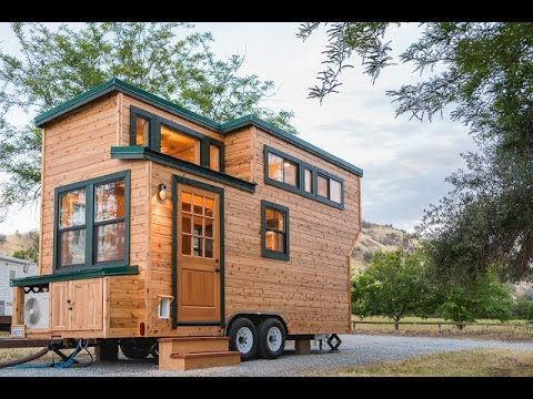 Beautiful From California Tiny House Is This Beautiful 18 Ft Home On Wheels. The Home  Has