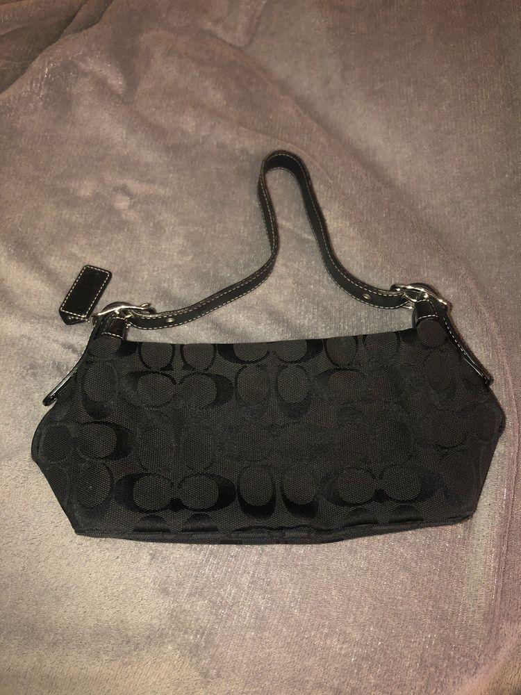 856c93c25d70 COACH Mini Cute Bag Leather - Black  fashion  clothing  shoes  accessories