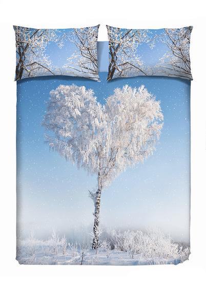 Cuscini Testiera Letto Euronova.Parure Copripiumino Love Tree Copripiumino Camera Da Letto Da