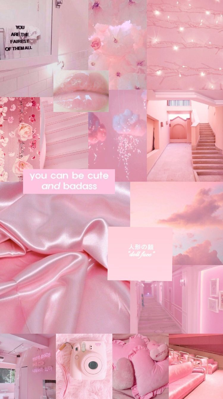 Aesthetic Wallpapers Pink Wallpaper Nice In 2020 Pink Wallpaper Girly Wallpaper Pink And Blue Pink Wallpaper