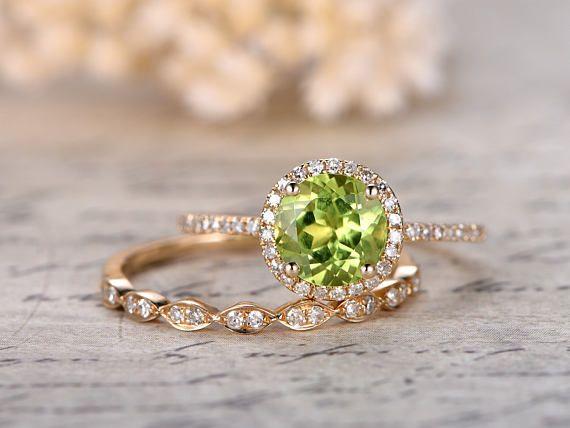 Pin On Green Zabargad Stone I Love It