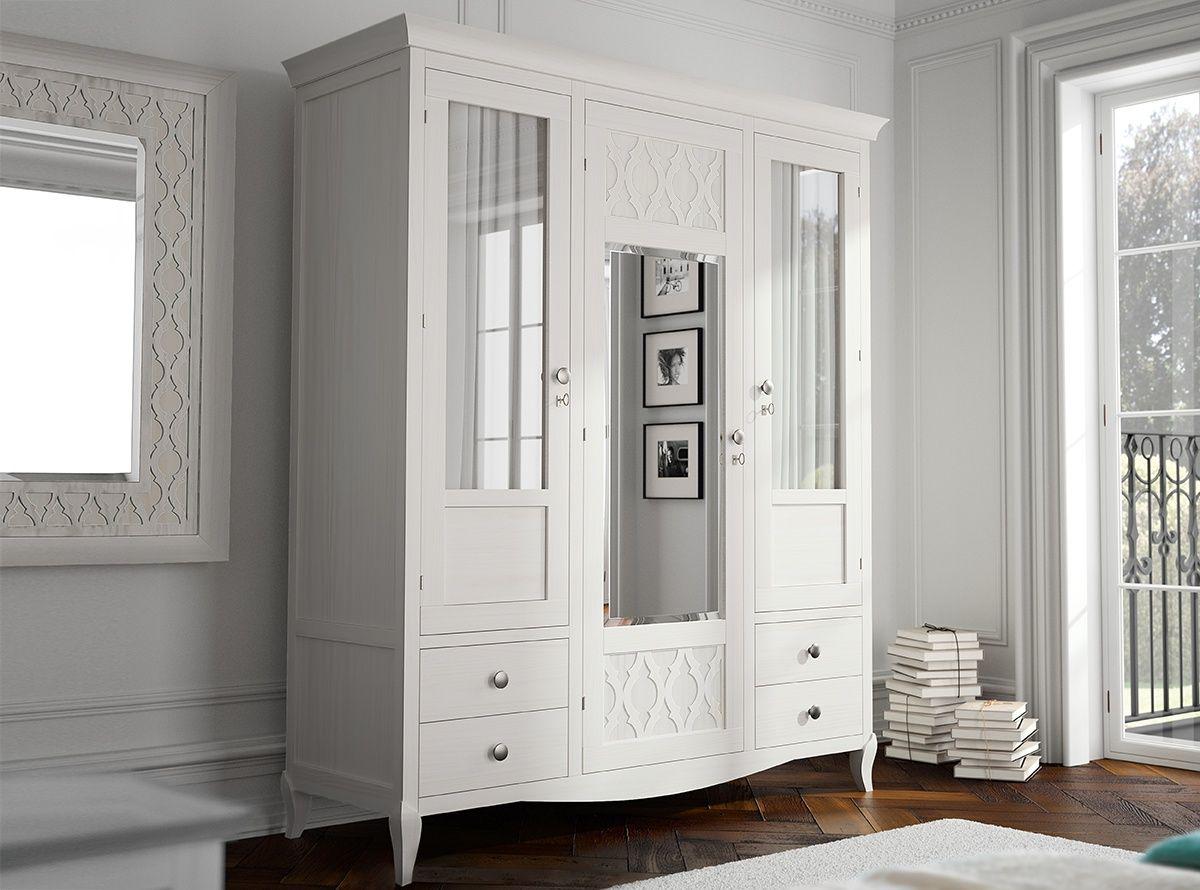 Armario JUNO - Dormitorios   MUEBLES LA FABRICA   blanco   Pinterest ...