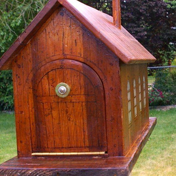 Custom Wooden Mailbox Free Shipping Wooden Mailbox Mailbox Design Diy Mailbox