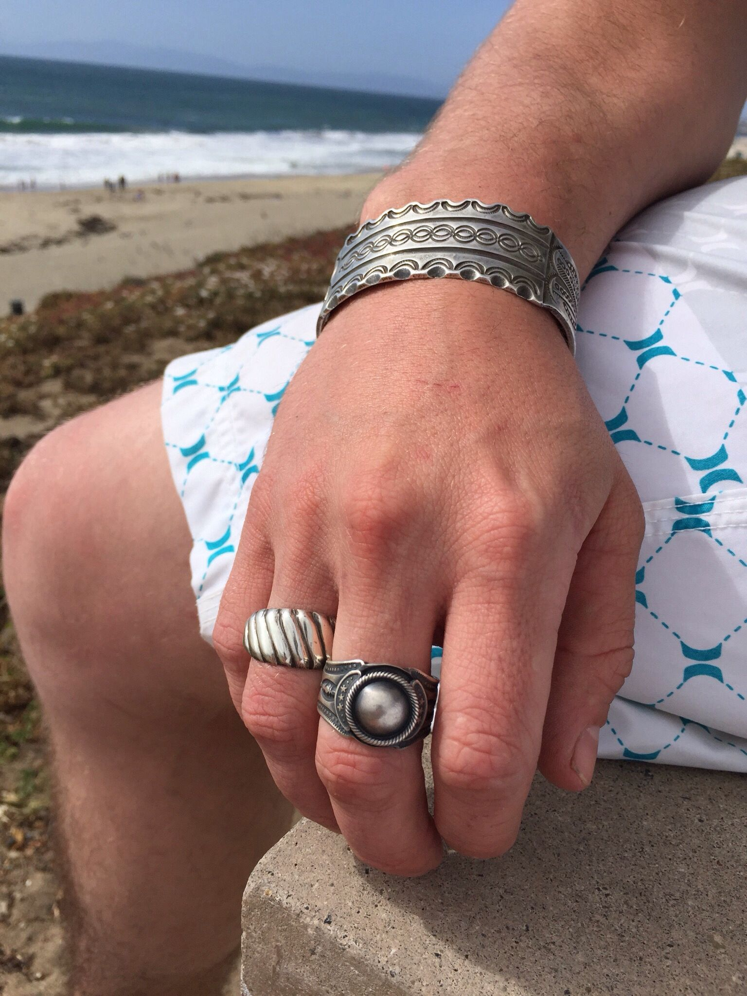 Summer is coming.......Navajo rings and bracelets....