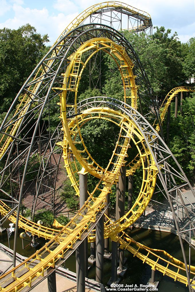 Loch Ness Monster Busch Gardens Williamsburg Virginia Usa Roller Coasters Other Rides
