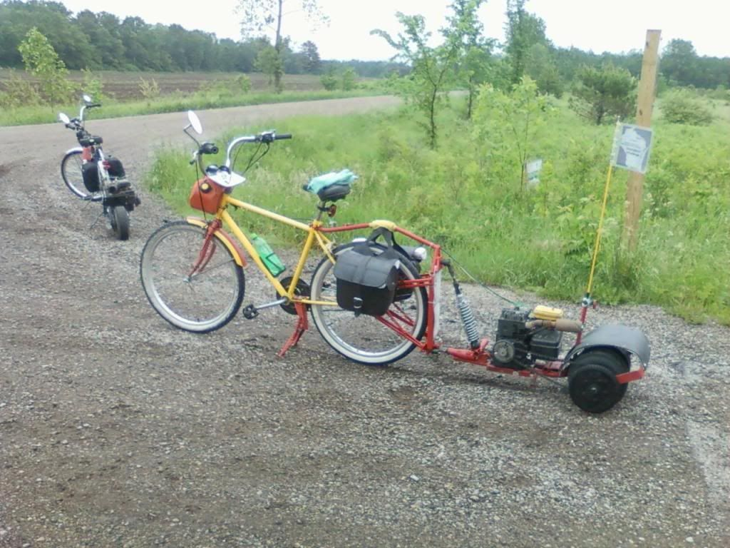 Bike Pusher Trailer Diy Go Kart Forum Metal Projects