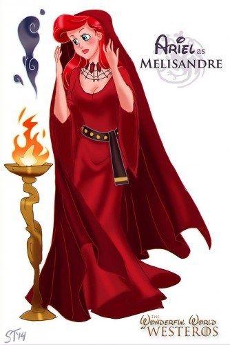 Les princesses Disney intègrent l'univers Game Of Thrones