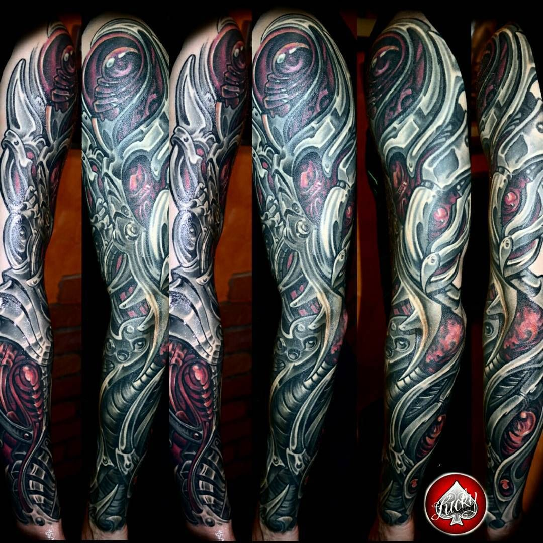 75 Best Biomechanical Tattoo Designs Meanings: 28+ [100 Biomechanical Tattoo Designs 30]