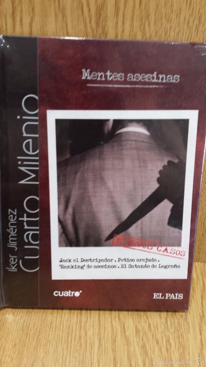 CUARTO MILENIO. Nº 19 - MENTES ASESINAS. IKER JIMÉNEZ. LIBRO + DVD ...