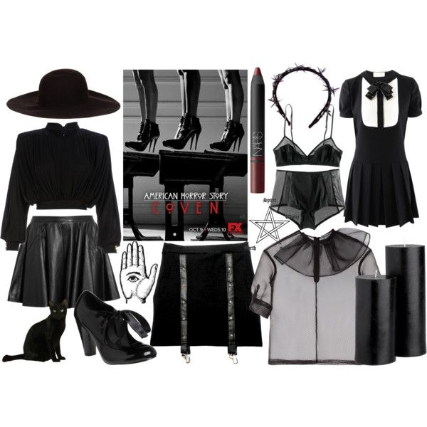 """American Horror Story: Coven"" by sheelin on Polyvore"