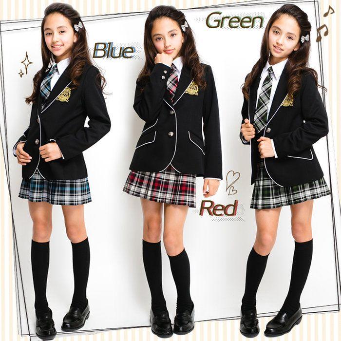 3b8f4ae912d 卒業式スーツ女の子ジャケット+スカート+ネクタイ3点セットジョセフジュニア卒服145150160小学生P25Jan15