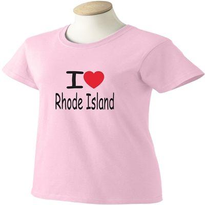 I Love Rhode Island T-Shirt - www.scottystees.com