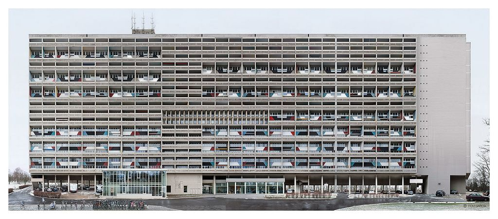 unit d 39 habitation le corbusier architecture arch and. Black Bedroom Furniture Sets. Home Design Ideas