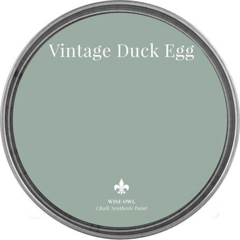 Vintage Duck Egg PINT- Wise Owl Chalk Synthesis Pa