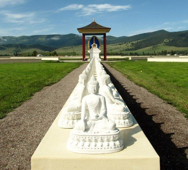 Beautiful Garden Of 1 000 Buddhas In Arlee Mt Peace Light Pinterest Buckets