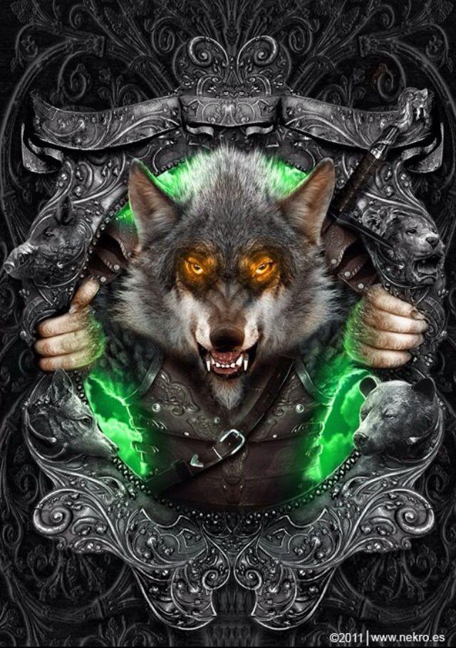 Warewolf creature arte for Ardeatina arredamenti di lupi gabriella