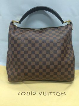 Louis Vuitton Portobello Pm Damier Ebene Shoulder Bag. Get one of the hottest styles of the season! The Louis Vuitton Portobello Pm Damier Ebene Shoulder Bag is a top 10 member favorite on Tradesy. Save on yours before they're sold out!
