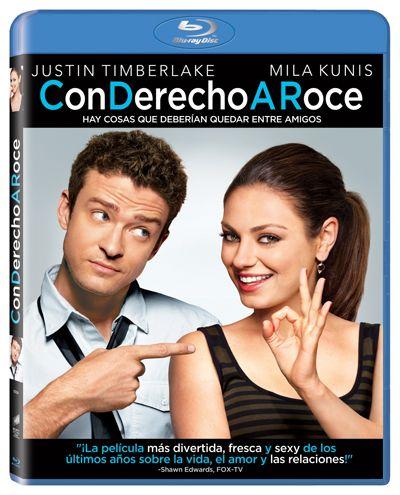 Con Derecho A Roce Formato Blu Ray Friends With Benefits Friends With Benefits Movie Romance Movie Poster