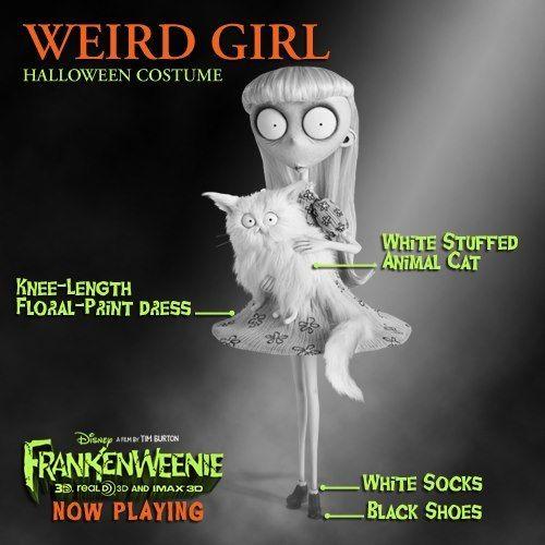 weird girl frankenweenie costume