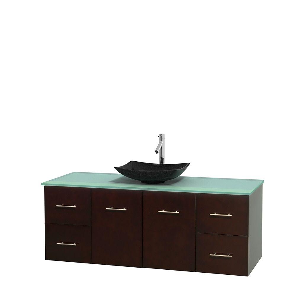 Wyndham Collection Centra 60 Inch Single Bathroom Vanity In